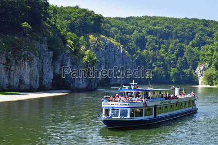 navigation tourism danube scenery countryside nature